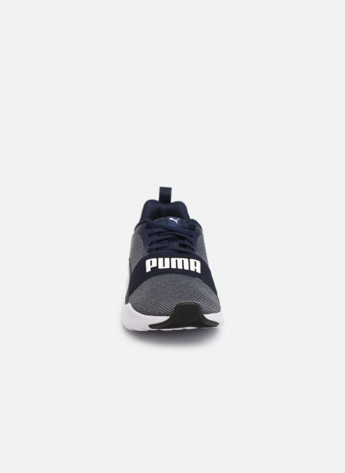 Baskets Puma Wired Gris vue portées chaussures