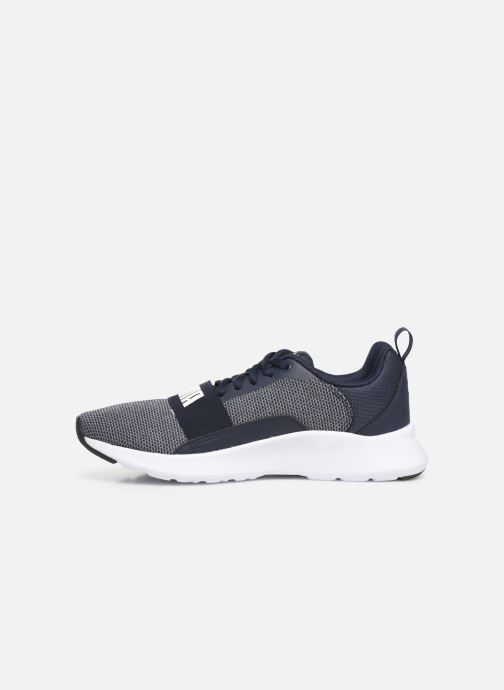 Baskets Puma Puma Wired Jr Gris vue face