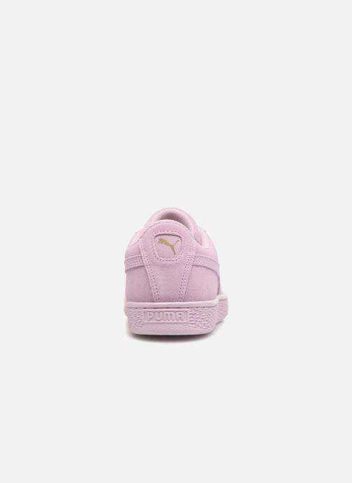 Sneaker Puma Jr Suede Jewel rosa ansicht von rechts