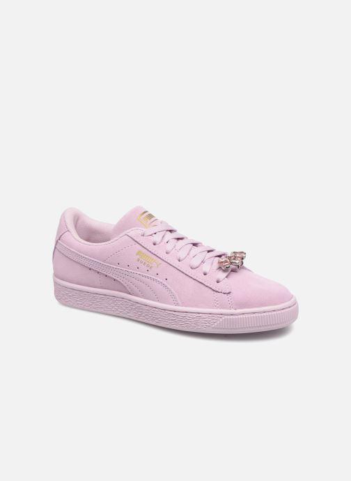 Sneakers Puma Jr Suede Jewel Rosa vedi dettaglio/paio