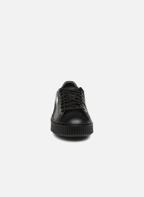 Baskets Puma Basket Platform Bling Noir vue portées chaussures