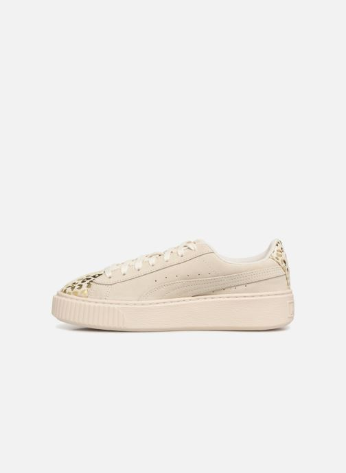 Trainers Puma Suede Platform Ath Lux White front view