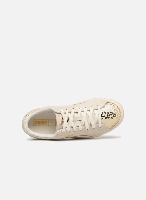 Trainers Puma Suede Platform Ath Lux White view from the left