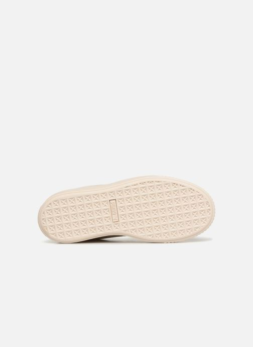 Baskets Puma Suede Platform Ath Lux Blanc vue haut