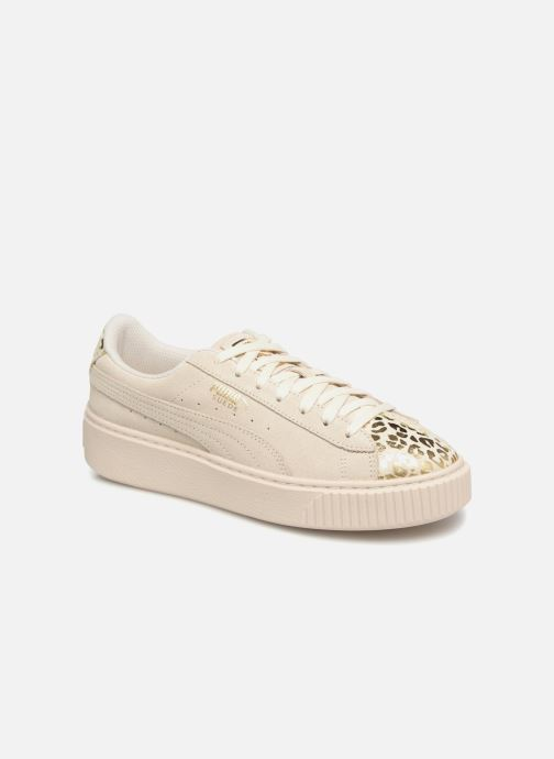 Trainers Puma Suede Platform Ath Lux White detailed view/ Pair view