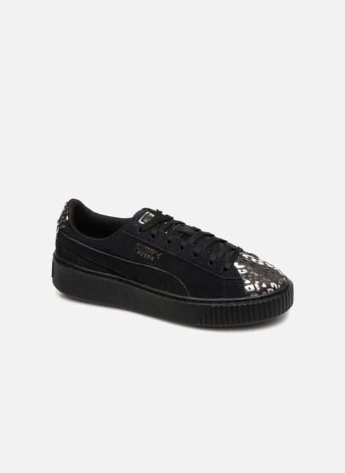 Sneakers Puma Suede Platform Ath Lux Nero vedi dettaglio/paio