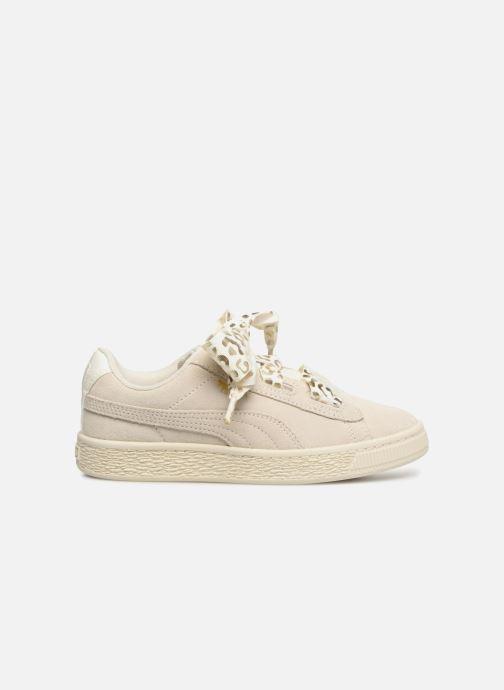Sneakers Puma Suede Heart Ath Lux J Bianco immagine posteriore