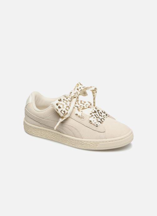 Sneakers Puma Suede Heart Ath Lux J Bianco vedi dettaglio/paio