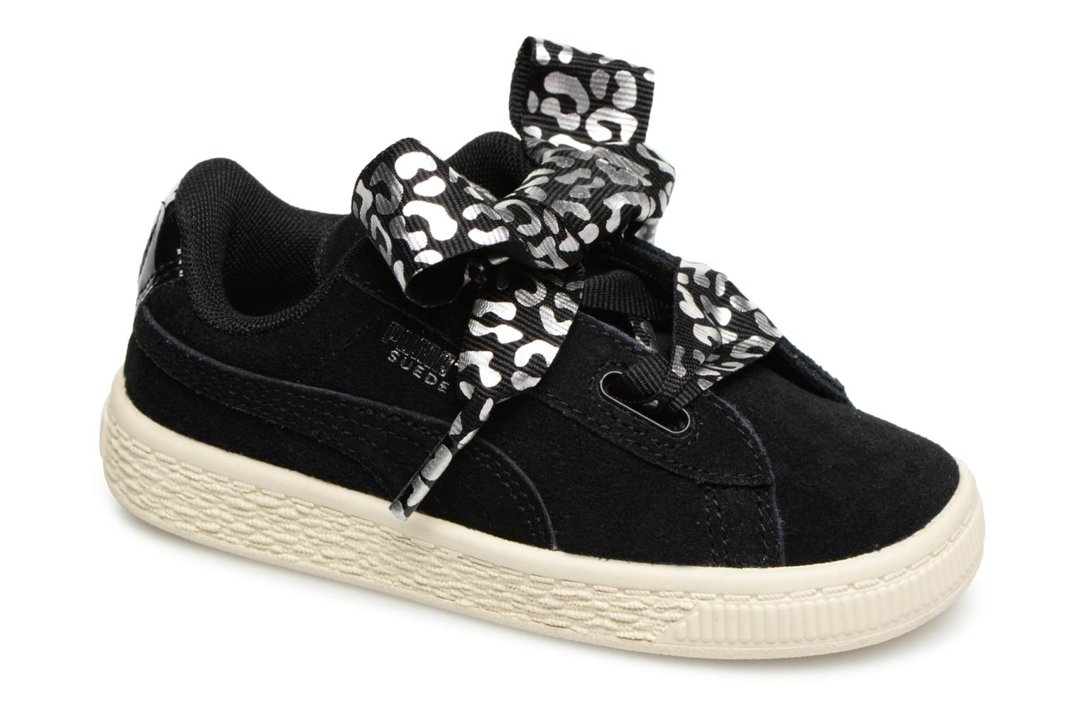 Inf Suede Heart Ath Lux