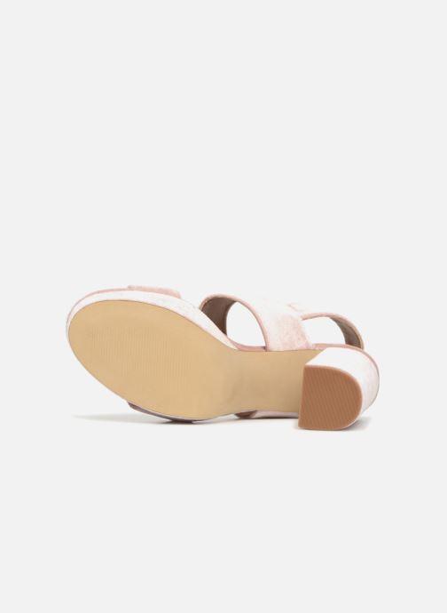 Sandales et nu-pieds Steve Madden Betty Sandals Rose vue haut
