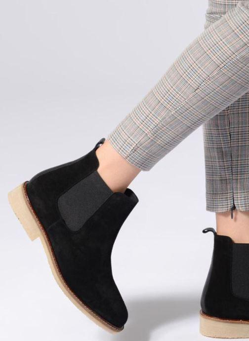 Bottines et boots 70/30 JIMMIE Noir vue bas / vue portée sac