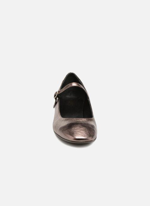 Ballerines 70/30 KIM Argent vue portées chaussures