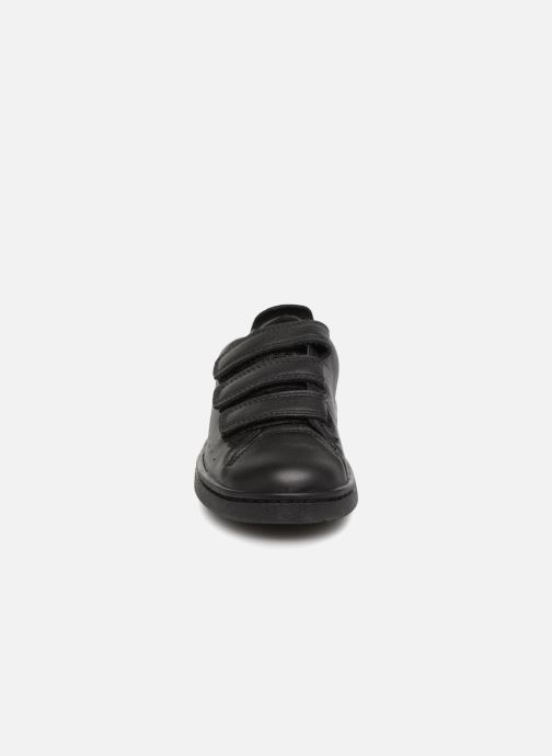 Sneaker Clarks Nate Maze schwarz schuhe getragen