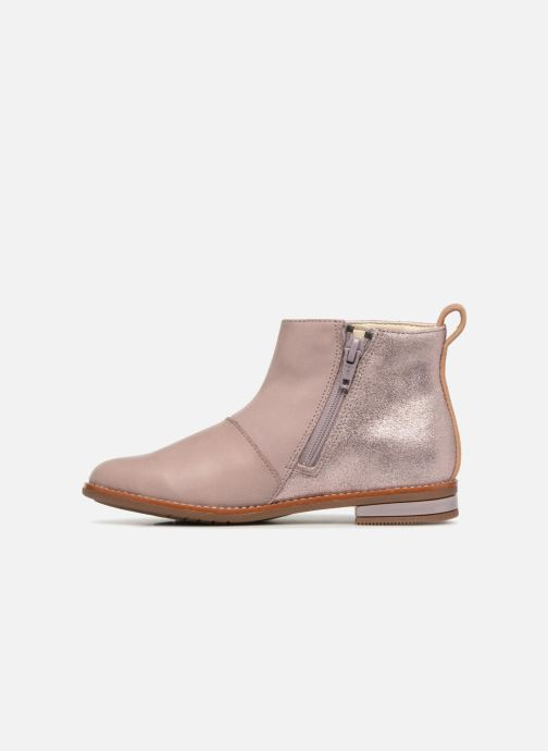 Ankle boots Clarks Drew Fun Pink front view