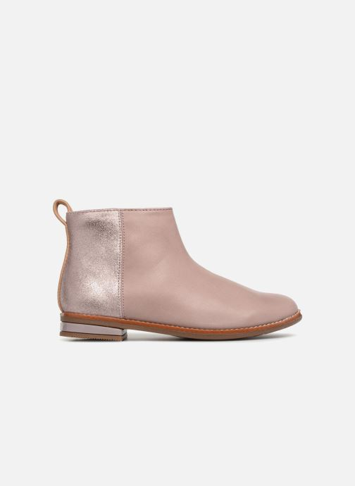 Ankle boots Clarks Drew Fun Pink back view