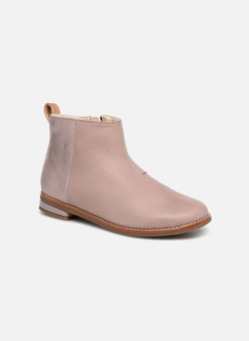 Ankle boots Clarks Drew Fun Pink detailed view/ Pair view