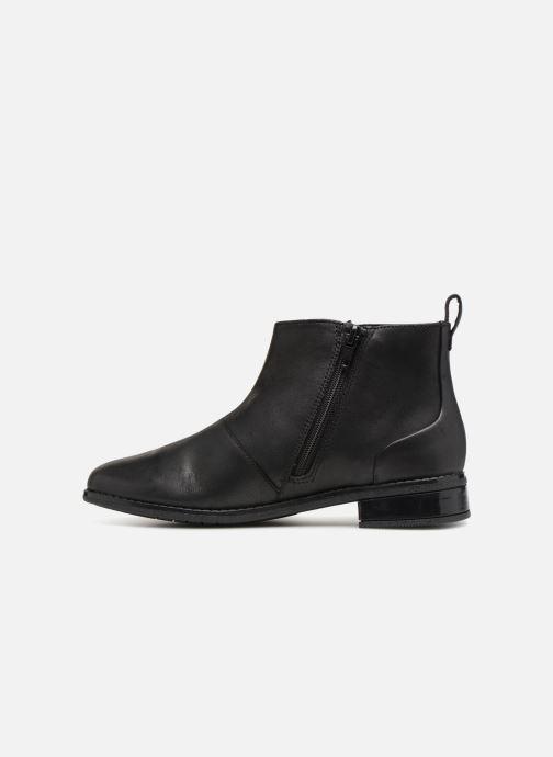 Boots en enkellaarsjes Clarks Drew Moon Zwart voorkant