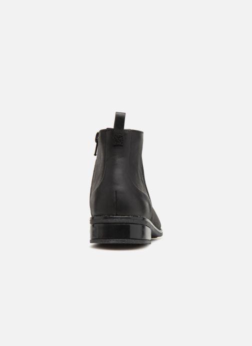 Bottines et boots Clarks Drew Moon Noir vue droite