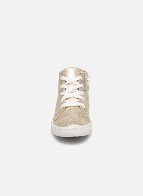Baskets Clarks City Oasis Or et bronze vue portées chaussures