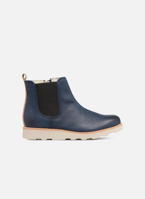 Bottines et boots Clarks Crown Halo Bleu vue derrière