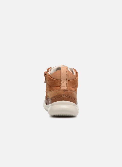 Sneakers Clarks Cloud Air inf Bruin rechts
