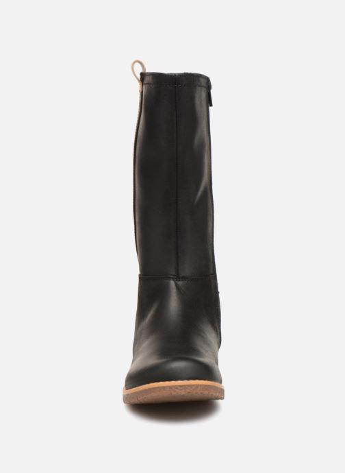 Bottes Clarks Comet Wild GTX Noir vue portées chaussures