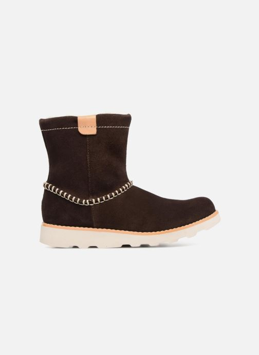 Botas Clarks Crown Piper Marrón vistra trasera
