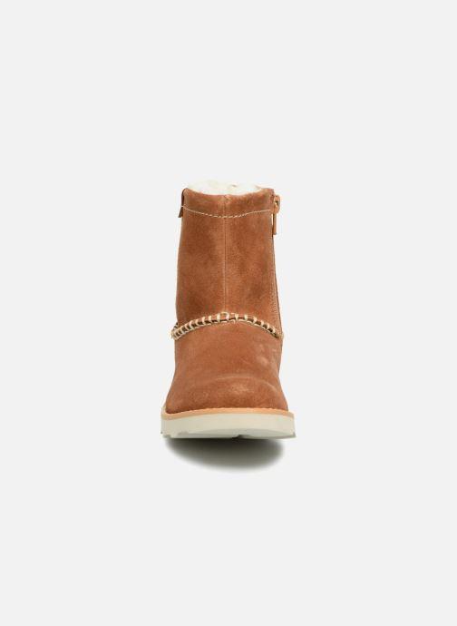 Stiefel Clarks Crown Piper braun schuhe getragen