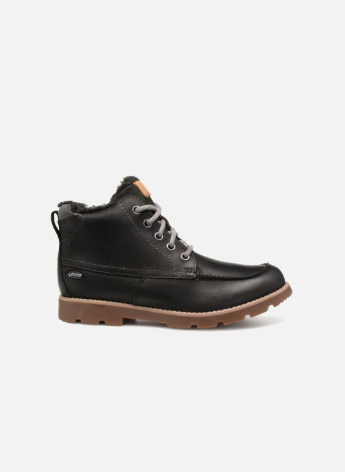 Ankle boots Clarks Comet Moon GTX Black back view