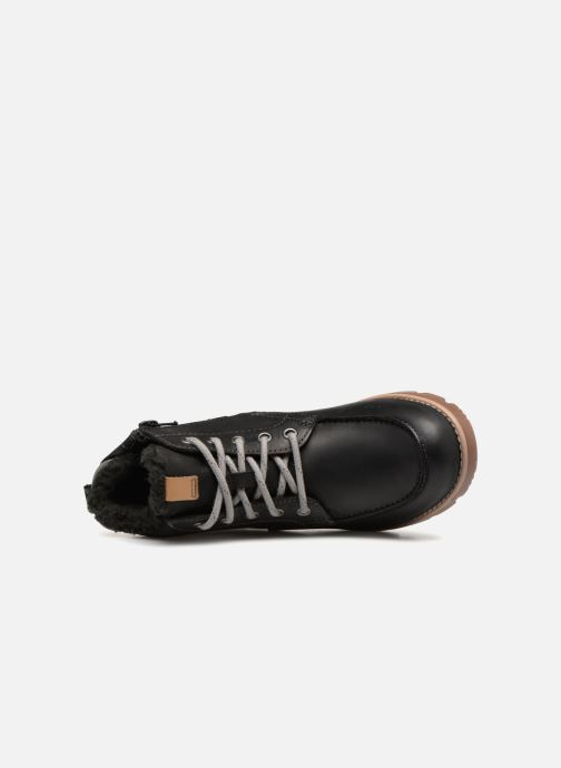 Ankle boots Clarks Comet Moon GTX Black view from the left