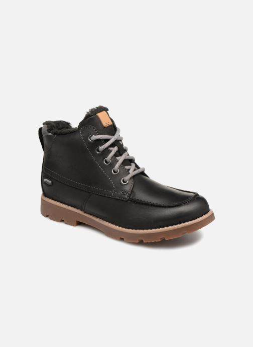 Ankle boots Clarks Comet Moon GTX Black detailed view/ Pair view