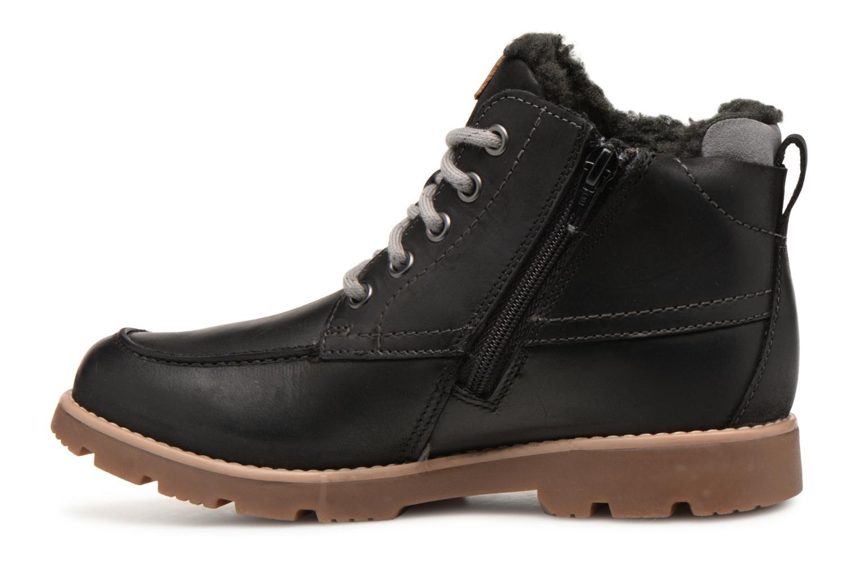 Bottines et boots Clarks Comet Moon GTX Noir vue face