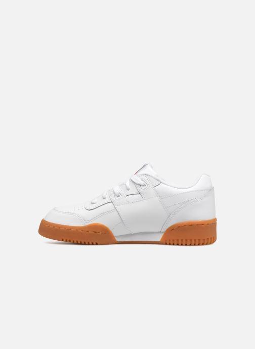 Sneakers Reebok Workout Plus J Bianco immagine frontale
