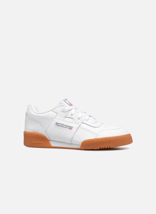 Baskets Reebok Workout Plus J Blanc vue derrière