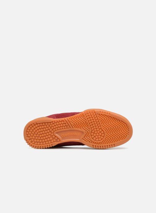 Sneakers Reebok Workout Plus J Bordeaux boven