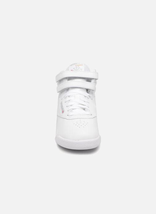 Baskets Reebok F/S Hi J Blanc vue portées chaussures