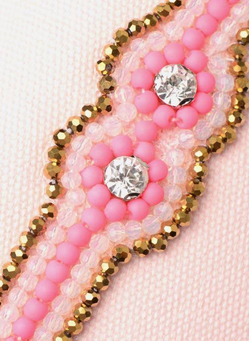 Kleine lederwaren Amenapih by Hipanema Pochette Pink Roze links