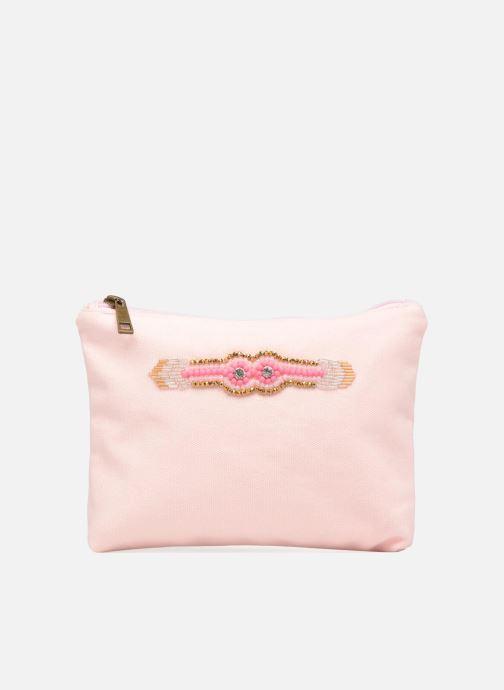 Kleine lederwaren Amenapih by Hipanema Pochette Pink Roze detail