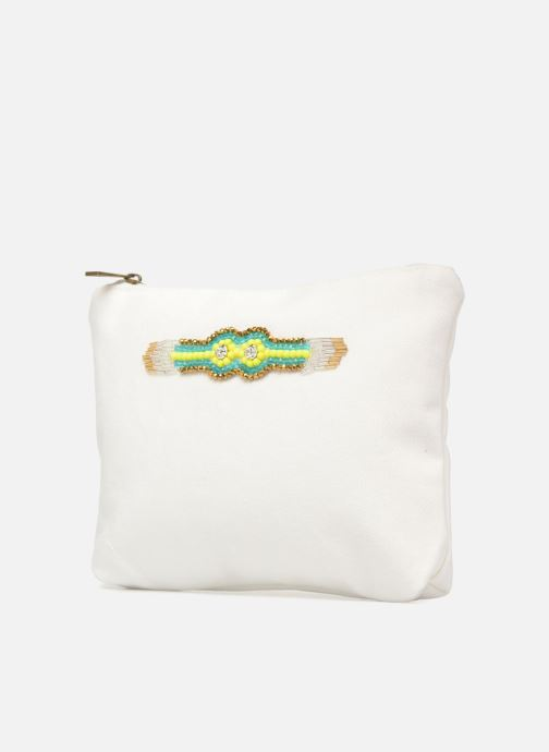 Pelletteria Amenapih by Hipanema Pochette White Bianco modello indossato