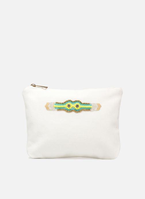 Kleine lederwaren Amenapih by Hipanema Pochette White Wit detail