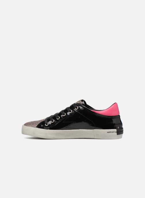 Baskets Crime Black&Red sneakers Noir vue face