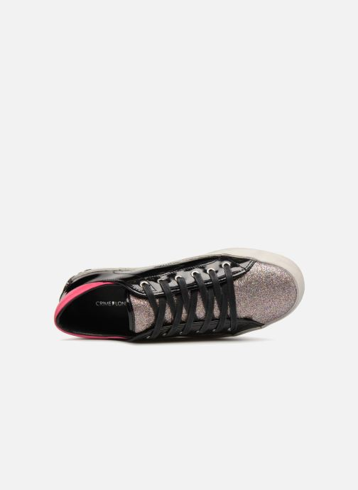 Baskets Crime Black&Red sneakers Noir vue gauche