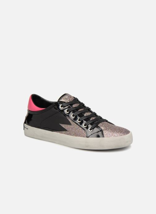 Baskets Crime Black&Red sneakers Noir vue détail/paire
