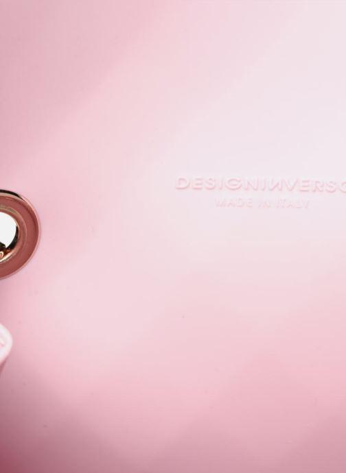 Mochilas Designinverso TOKYO Rosa baby Rosa vistra trasera