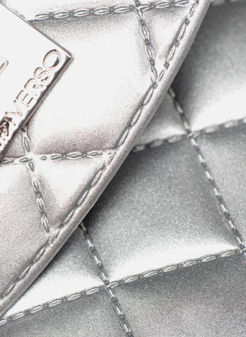 Mochilas Designinverso TOKYO Met argent Plateado vista lateral izquierda