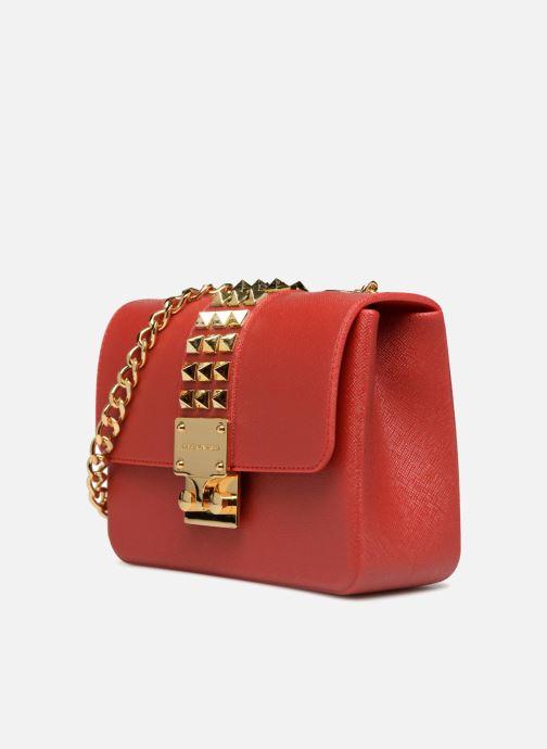 Bolsos de mano Designinverso Amalfi Print Rojo vista del modelo