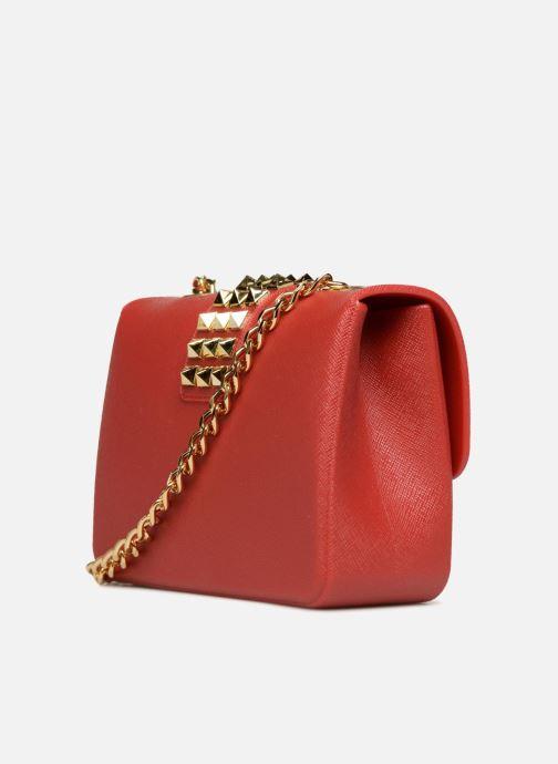 Bolsos de mano Designinverso Amalfi Print Rojo vista lateral derecha