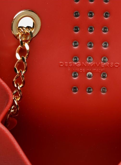 Bolsos de mano Designinverso Amalfi Print Rojo vistra trasera