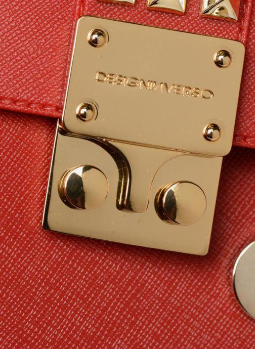 Bolsos de mano Designinverso Amalfi Print Rojo vista lateral izquierda