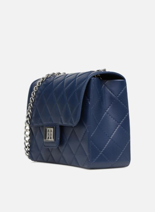 Handtaschen Designinverso Milano Blu blau schuhe getragen